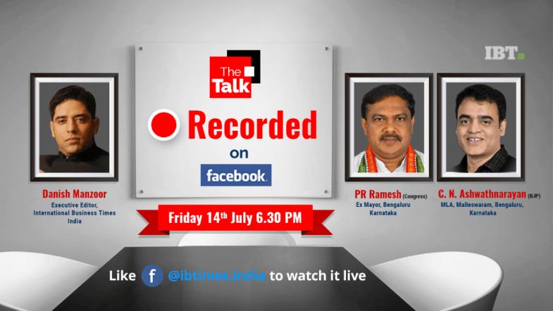 The Talk with P. R. Ramesh, Ex-Mayor, Bengaluru, Congress and C. N. Ashwathnarayan, BJP MLA, Malleshwaram