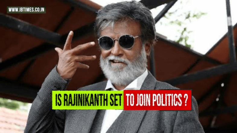 Is Rajinikanth all set to join politics?