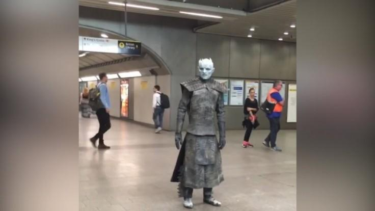 Game of Thrones White Walkers overrun busy London station
