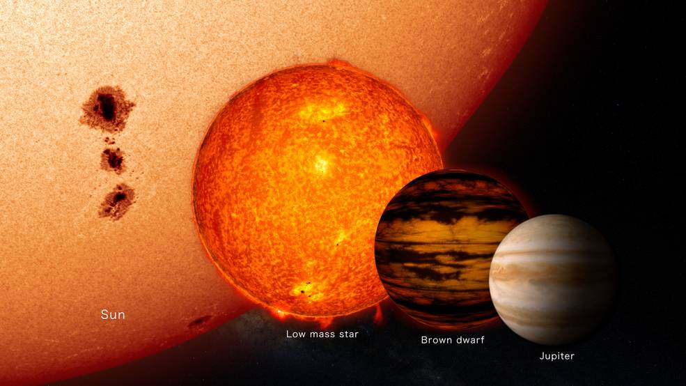 brown dwarf in outer space - photo #29