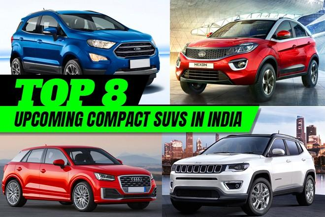 Top 8 upcoming compact SUVs in India