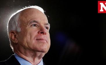 US Senator John McCain diagnosed with brain tumor