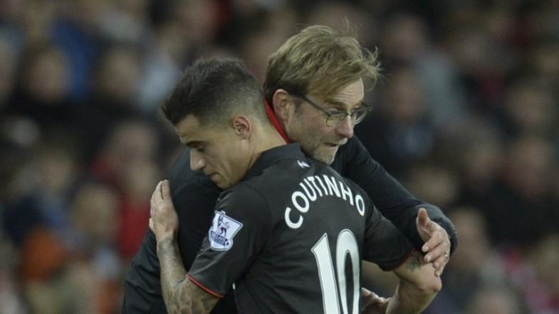Jurgen Klopp insists Philippe Coutinho is not for sale despite Barcelona interest