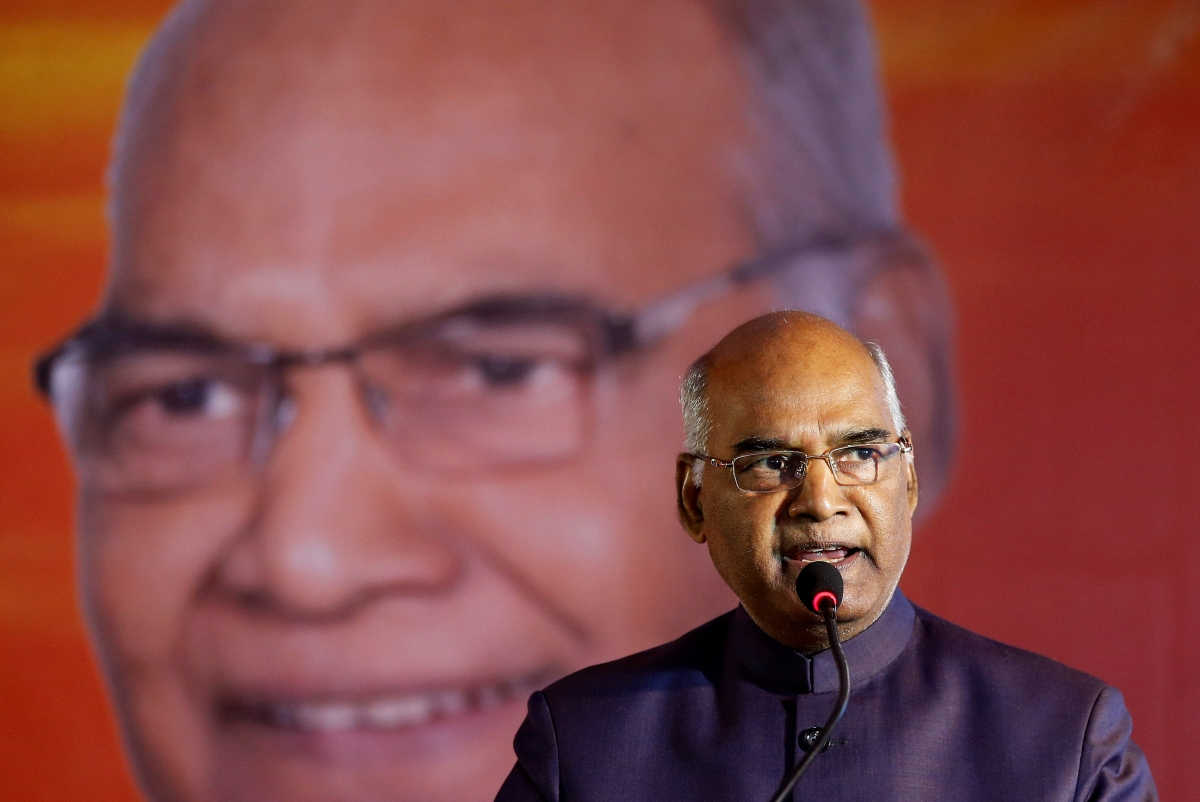 president s speech on the eve of 64th independence day President ram nath kovind addressing the nation in his first speech since taking oath last month, on the eve of india's independence day at 7pm the presiden.