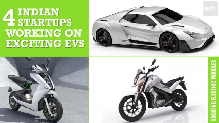Did you know these 4 'desi' startups working on exciting electric vehicles in India?