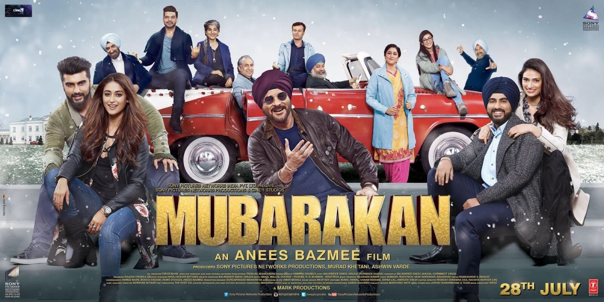 Mubarakan full movie leaked online; free download available on many sites