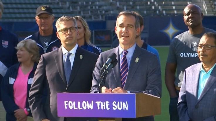 Los Angeles celebrates winning the 2028 Summer Olympics