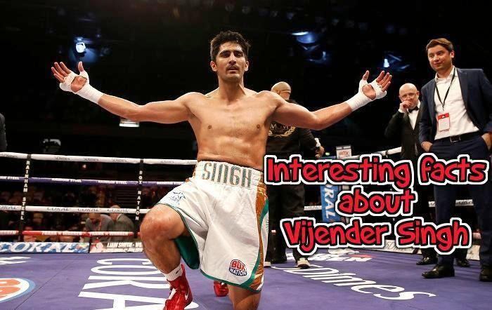 Interesting facts about Vijender Singh, king of India boxing