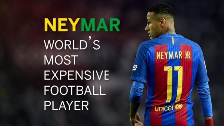 Neymar: The stats behind the worlds most expensive footballer