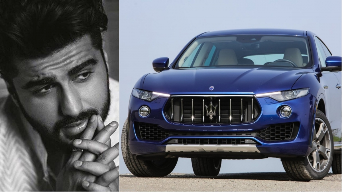 Actor Arjun Kapoor buys Maserati Levante; SUV yet to be launched in India