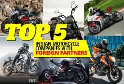Top 5 Indian motorcycle companies with foreign partners
