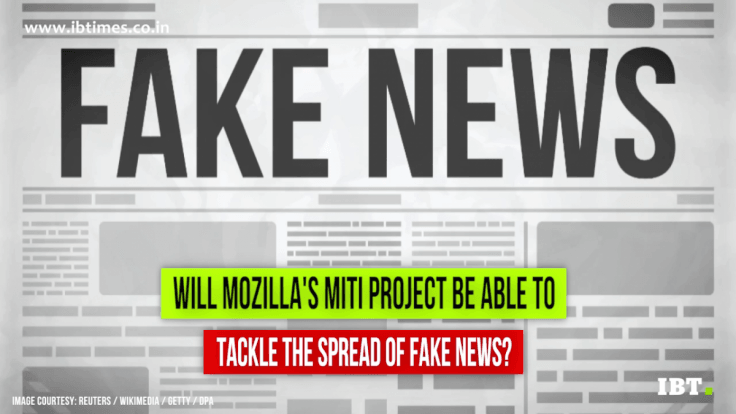 Firefox browser maker Mozilla to combat fake news