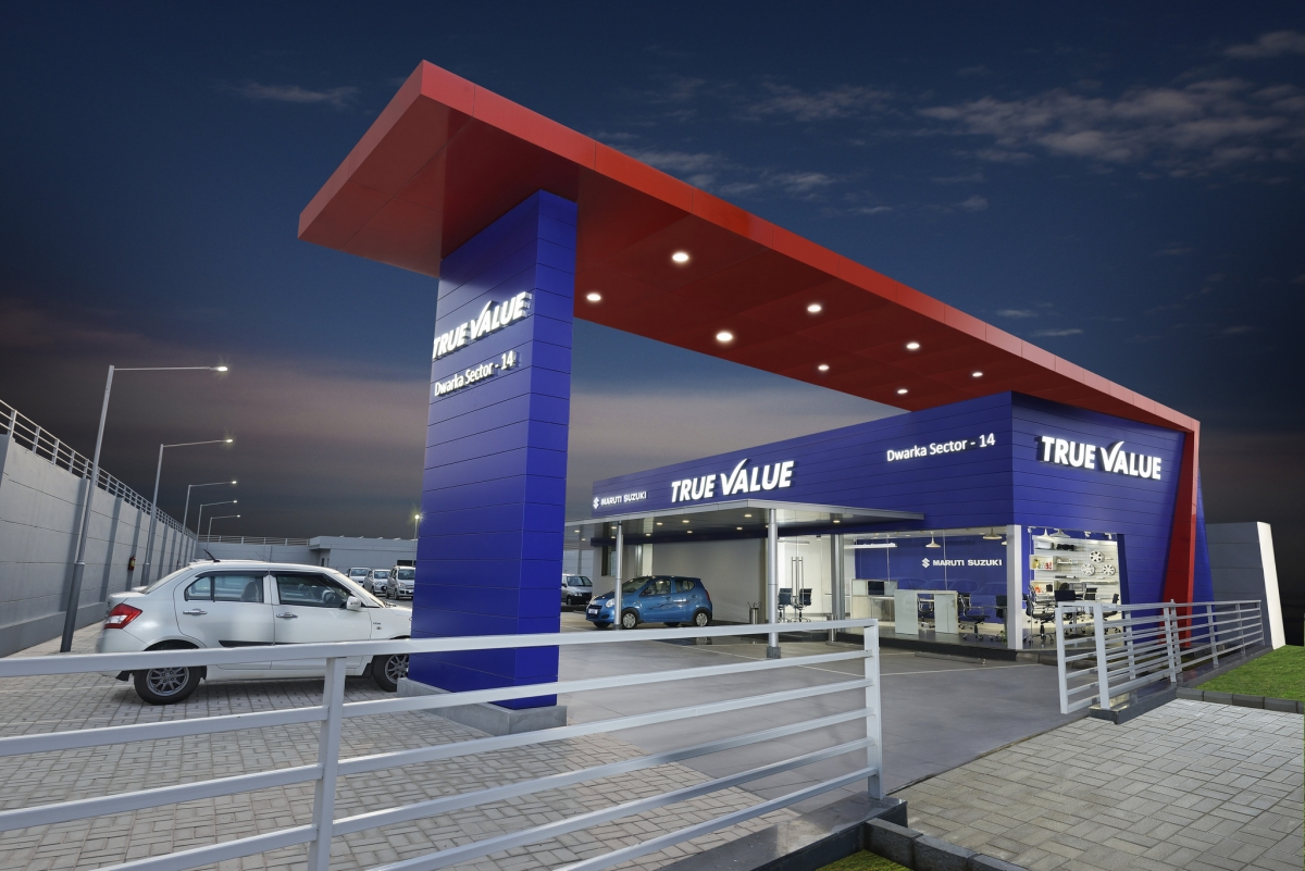 Maruti suzuki reboots to true value pre owned car outlets for Cannon motor company preowned