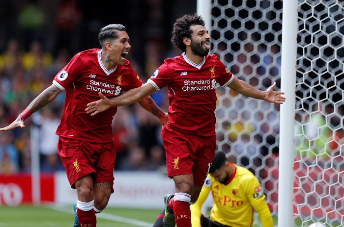Salah, Firmino score but Liverpool held by Watford