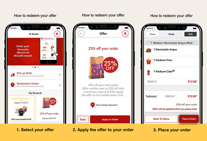 Mcdonalds smartphone coupons