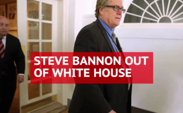 Steve Bannon is out at White House
