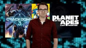 Video game news round-up: Crackdown 3 delayed, Planet of the Apes game and Sonic Mania delights