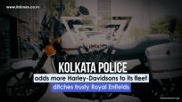 Kolkata Police adds Harley-Davidson bikes to its fleet