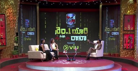 Taapsee Pannu and Lakshmi Manchu on No 1 Yaari with Rana