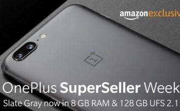 OnePlus 5, Slate Gray, price, specifications, Amazon India, discounts, launch offer