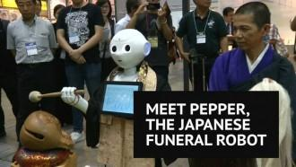 Japanese company develops robot priests to conduct Buddhist funerals
