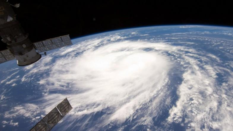 International Space Station captures new footage of Hurricane Harvey