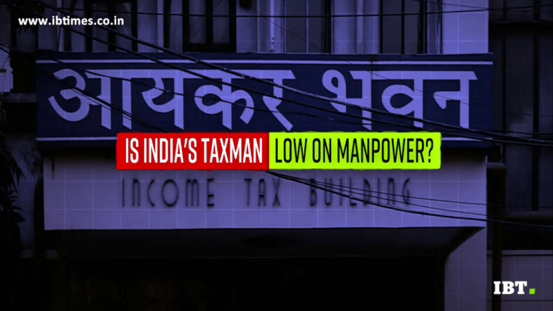 Income Tax Department is facing major manpower crunch