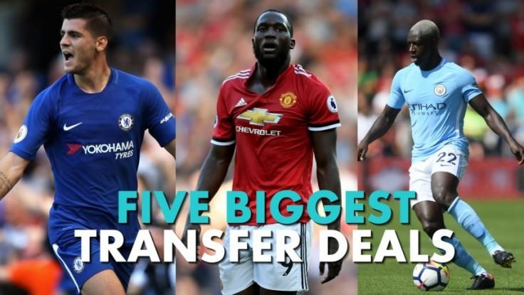Five biggest Premier League transfer deals of 2017