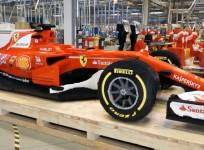 This life-size Ferrari F1 car was created entirely from lego