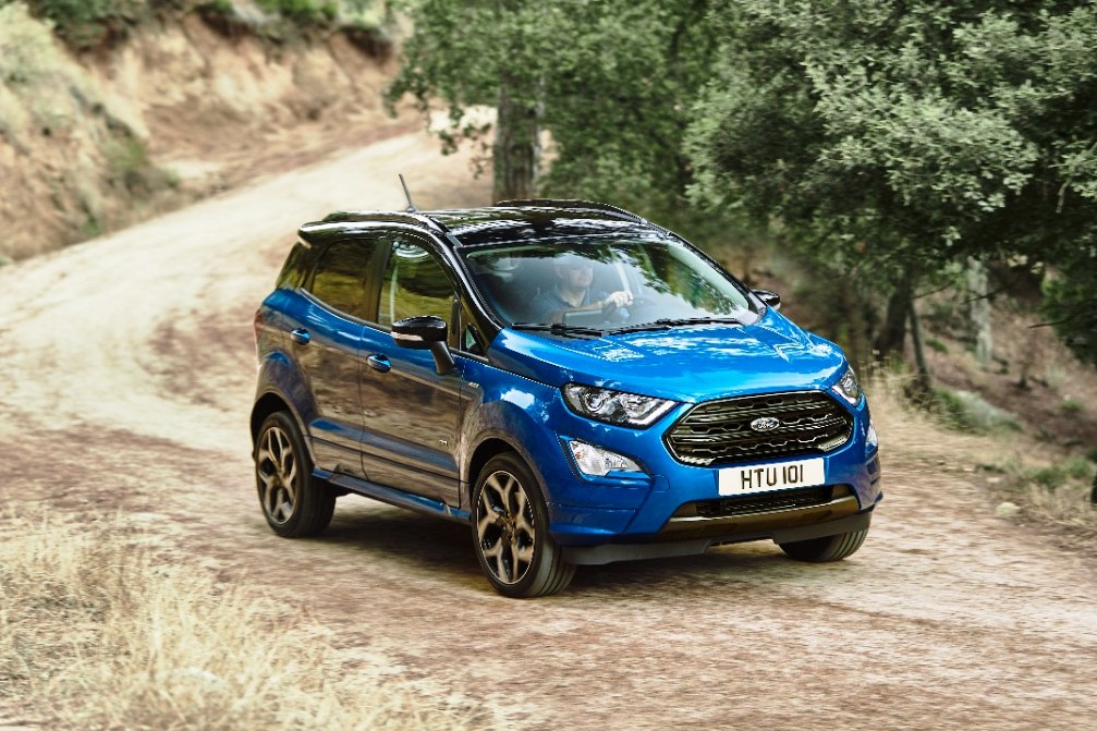sporty new ford ecosport st line revealed with awd new 1 5l diesel engine ibtimes india. Black Bedroom Furniture Sets. Home Design Ideas
