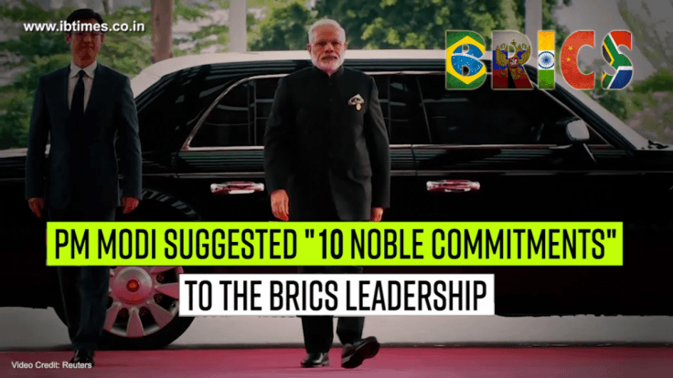 PM Modi suggests 10 'noble commitments' for global transformation