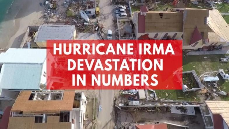 Hurricane Irma devastation in numbers