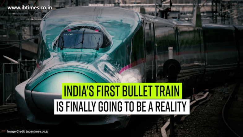 India's first bullet train is finally going to be reality!