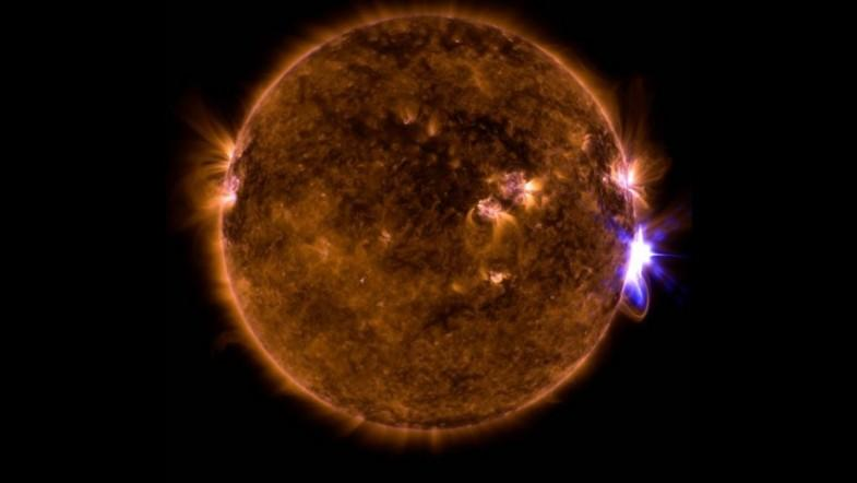 NASA captures mesmerizing footage of strongest solar flare in a decade