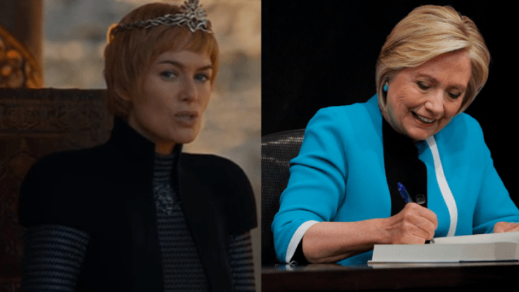 Hillary Clinton compares herself to Game of Thrones Cersei Lannister