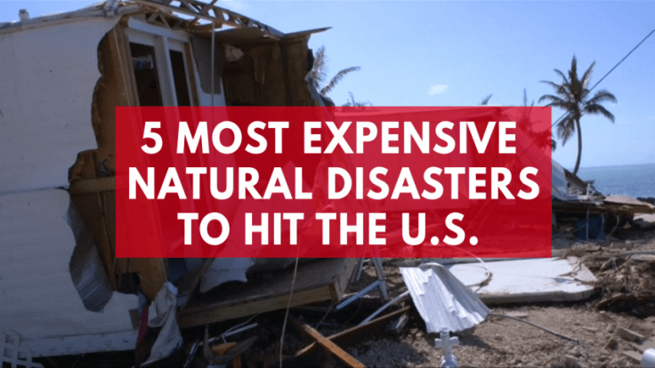 From Irma to Katrina: Five most expensive natural disasters to hit the US