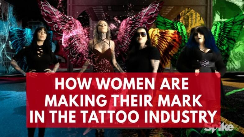 Ink Master: How women are making their mark in the tattoo industry