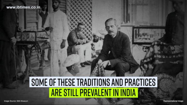 British laws are still prevalent in India