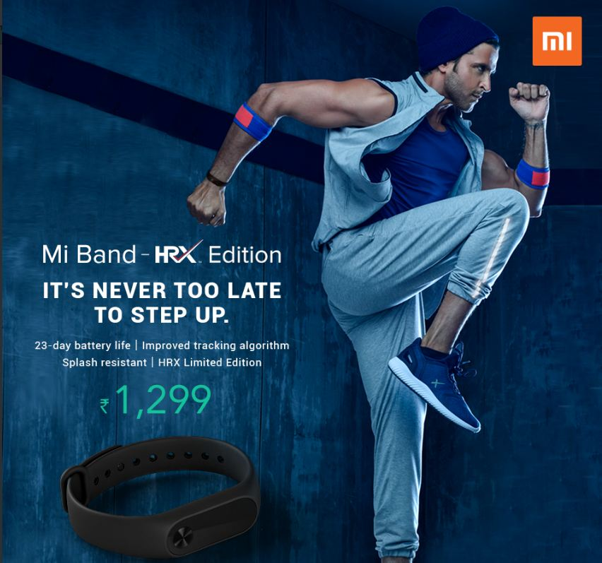 Xiaomi Mi Band Hrx Edition Price Specifications