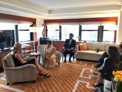 Sushma swaraj Ivanka Trump