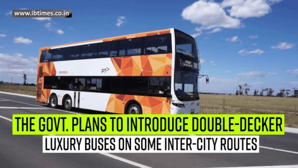 Centre plans to introduce double-decker buses on inter-state routes