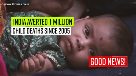 India prevented 1 million child deaths since 2005: Report