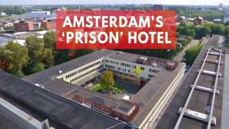 Notorious Dutch prison transformed into hotel to house refugees