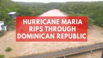 Hurricane Maria rips through Dominican Republic