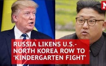 Russia urges hotheads Donald Trump and Kim Jong-un to calm down
