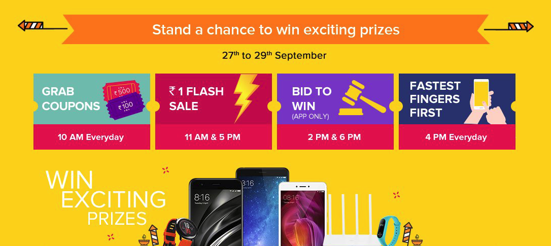 Xiaomi Redmi Note 4 Tips And Tricks: Xiaomi Re. 1 Flash Sale, Bid To Win, Fastest Fingers First