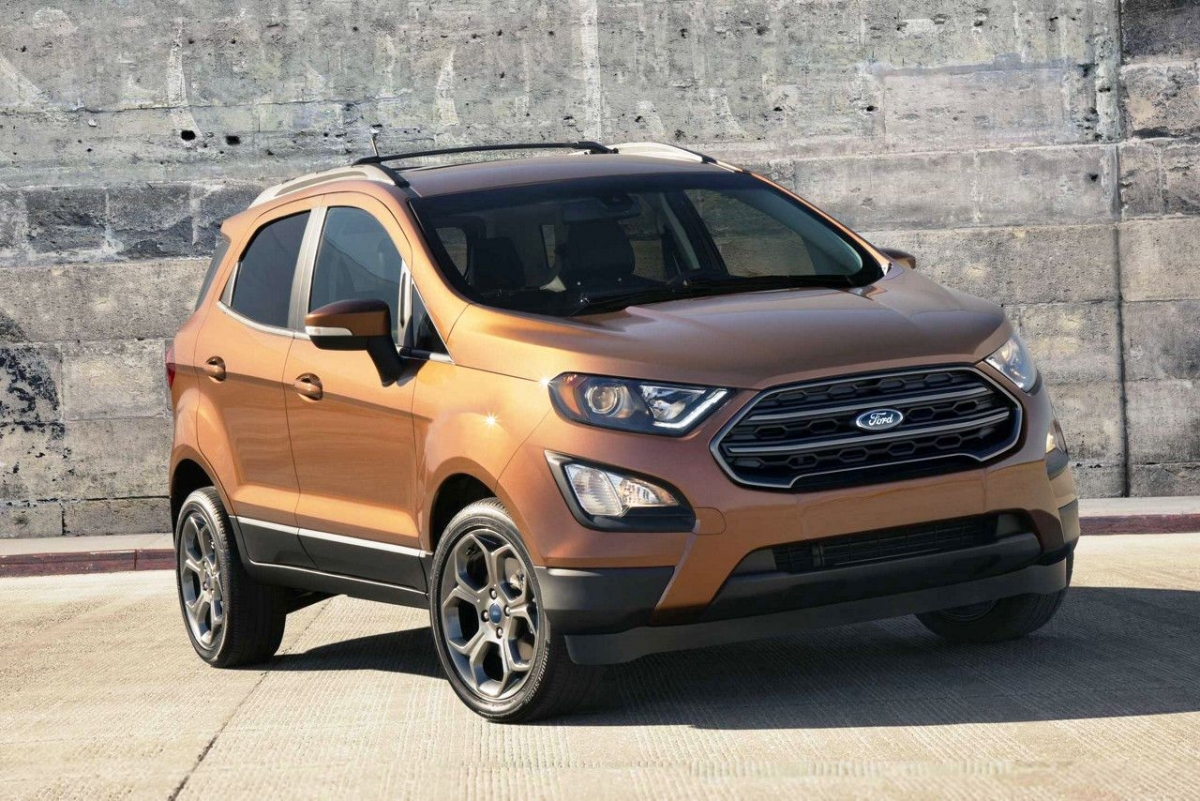 2017 ford ecosport facelift new dragon petrol engine. Black Bedroom Furniture Sets. Home Design Ideas