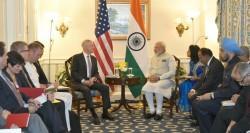 Jim Mattis and Narendra Modi