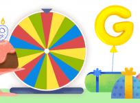 Google 19th Birthday Doodle