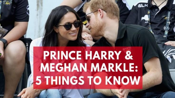 5 things to know about Prince Harry and Meghan Markles relationship